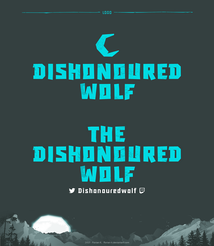 The Dishonoured Wolf: Logo by Florian-K