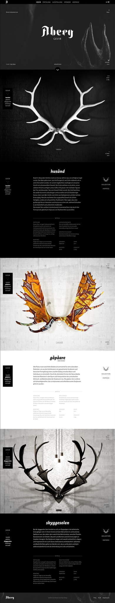 Website: Aberg by Florian-K