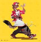 Sneaker stoat makes professional stoat noises by Florian-K