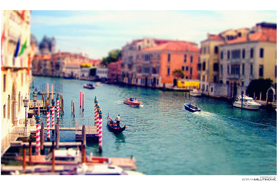 Miniature Venice by ZoranPhoto