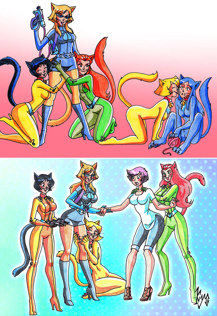 Totally Spies Hello Kittens Kyo By Macguffin78 On Deviantart