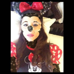 Ariana's Minnie Dress Instagram