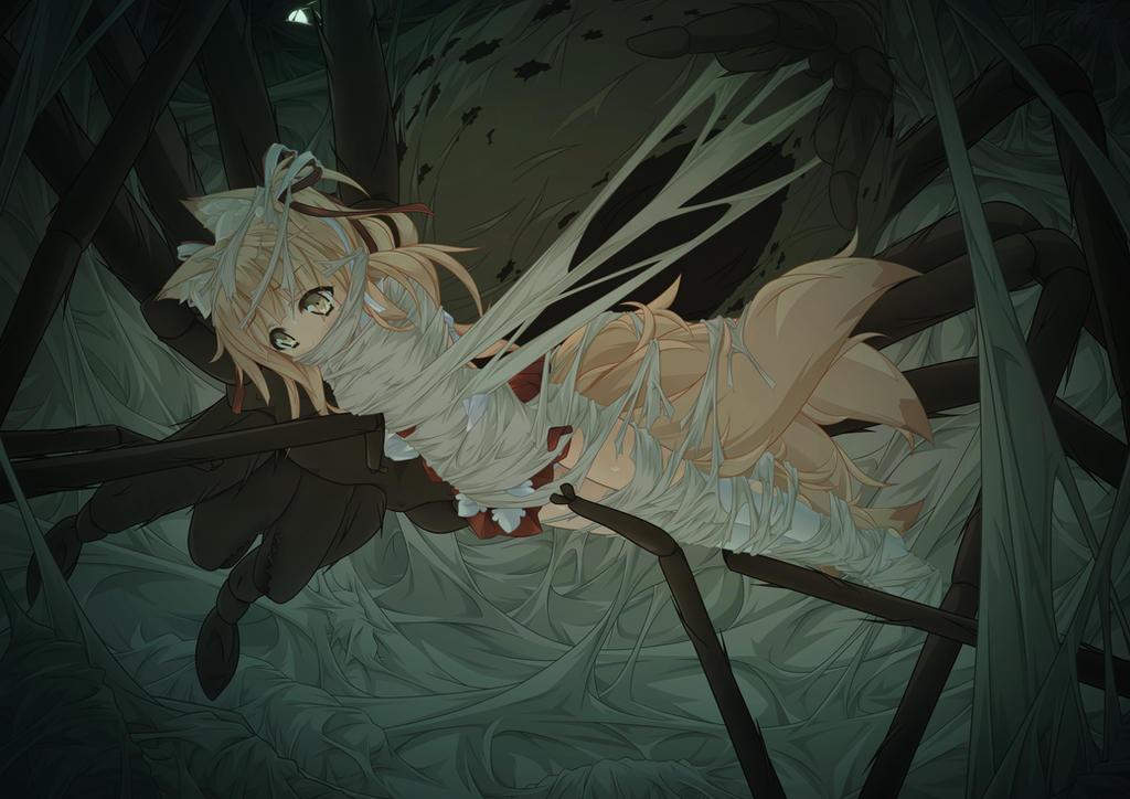 anime spider porn