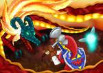 Subterranean Lava Dragon: Volvagia