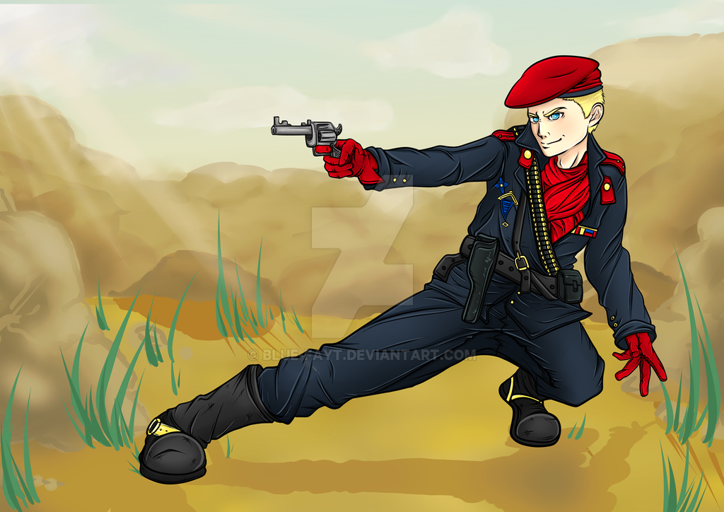 That's more of a Revolver technique: Ocelot- MGS3 by Blue-Fayt