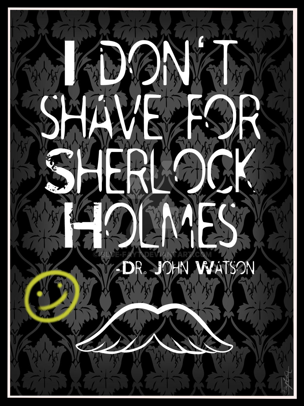 John, I moustache you a question [LIVE ON QWERTEE] by Blue-Fayt