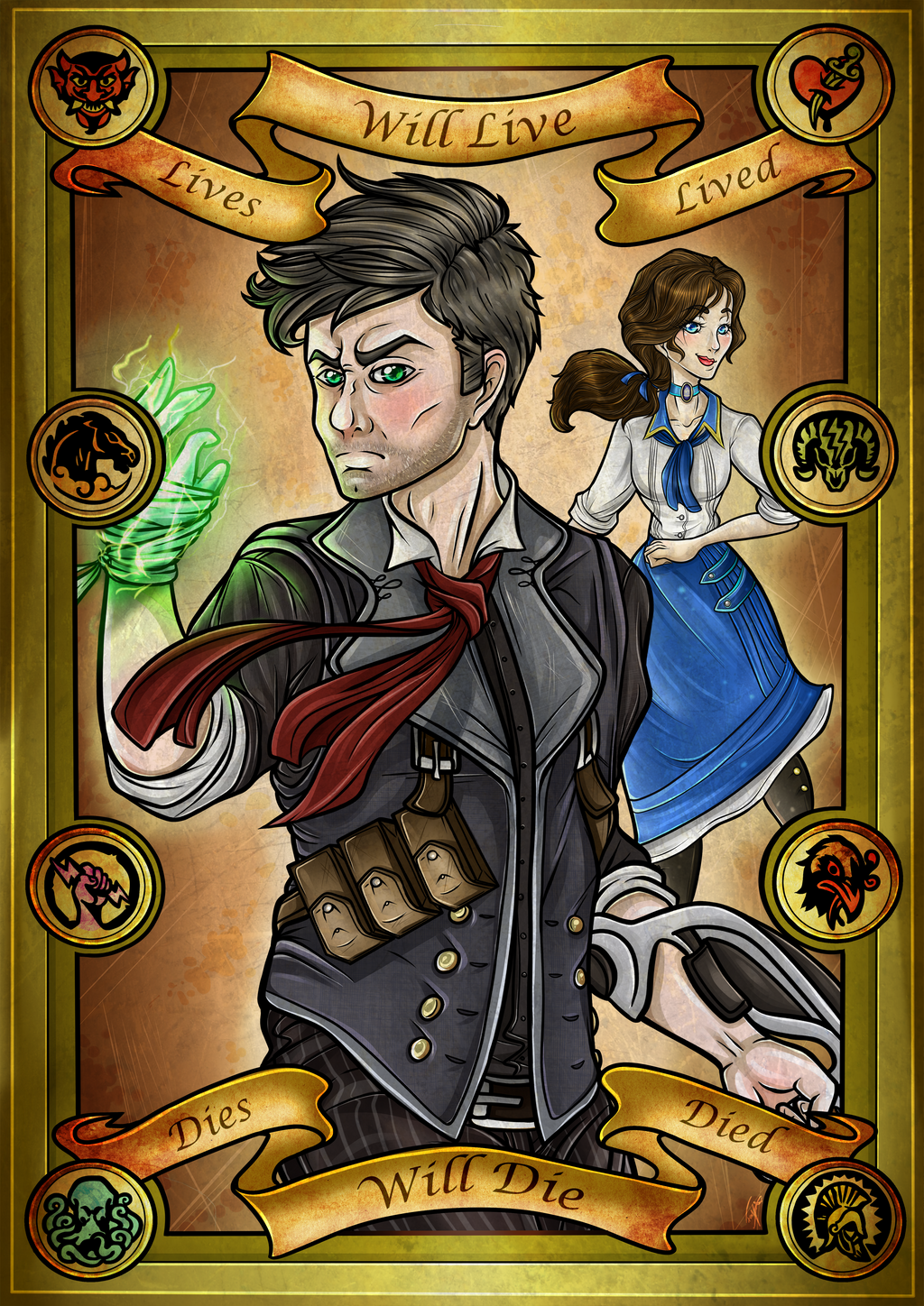 Constants and Variables: Bioshock Infinite by Blue-Fayt on ...