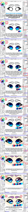 How to: Anime eyes (Blue-Fayt style!)