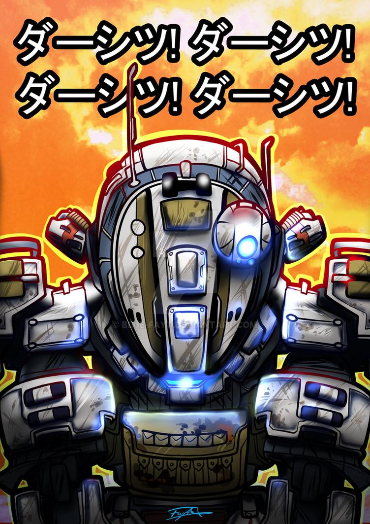 Ogre Titan- Titanfall by Blue-Fayt