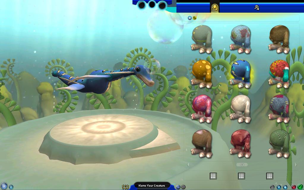 Spore aquatic stage скачать.