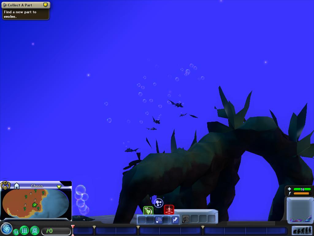 Spore aquatic stage с трекера | fayloobmennikins.