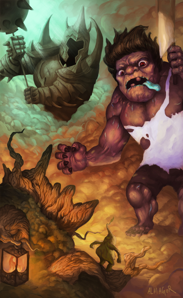 League of Legends Clash by ALMAGOR