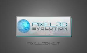 Pixel3D Logo Concept