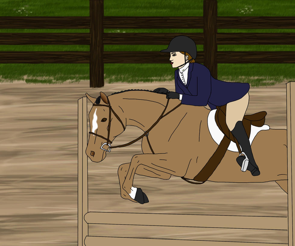 Candy PHA Pony Equitation by Zephyrra