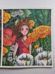 [ Watercolor ] Arrietty
