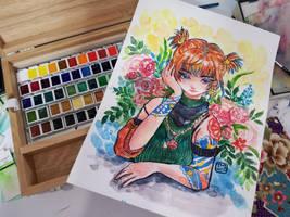 [ Watercolor ] Ciel