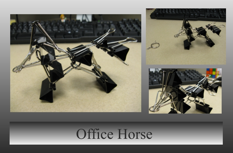 Office Horse by craftysorceress