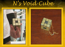 N's Void Cube-Menger Sponge by craftysorceress