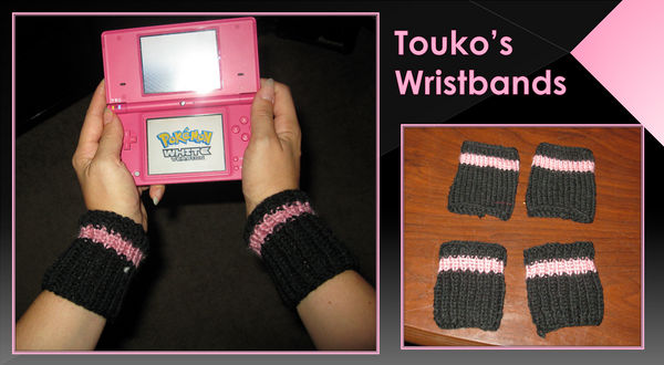 Touko's Knitted Wristbands