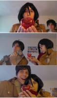 Eren, Mikasa and Valentine's Day