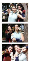 Korra and Asami Photobooth