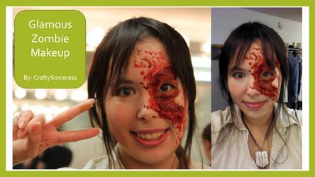 Glamorous Zombie by craftysorceress