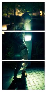 Eve - Night Light Triptych