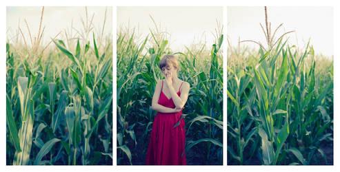 Julie - Cornfield Triptych