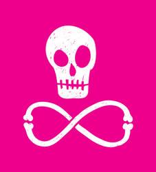 Infinite Skulls by JayRoeder