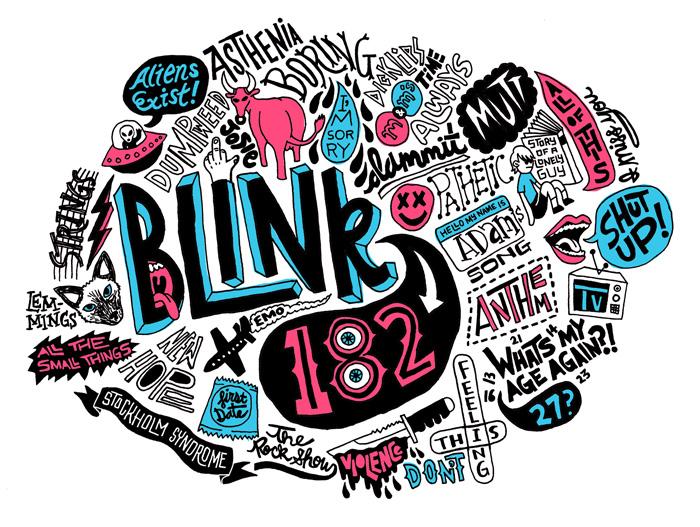Blink 182 by JayRoeder