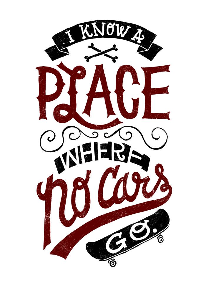 No Cars Go by JayRoeder