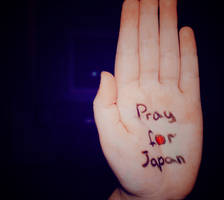 Pray for Japan by Rori-Rori