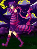 Mr. Cheshire Cat for Wolfekun by DarkHalo4321