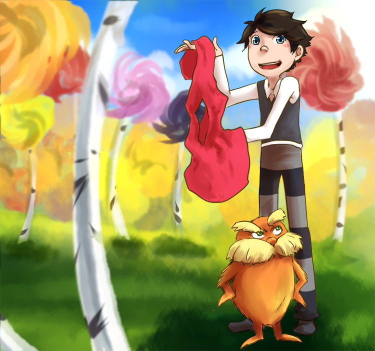 Commission : Once-ler And Lorax By DarkHalo4321 On DeviantArt