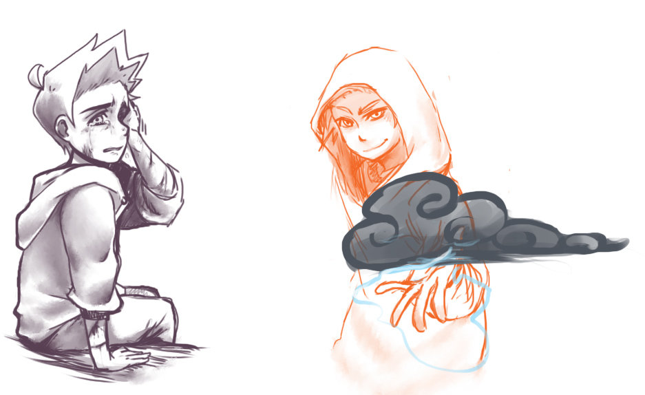 ParaNatural : Isaac Anime Style by DarkHalo4321