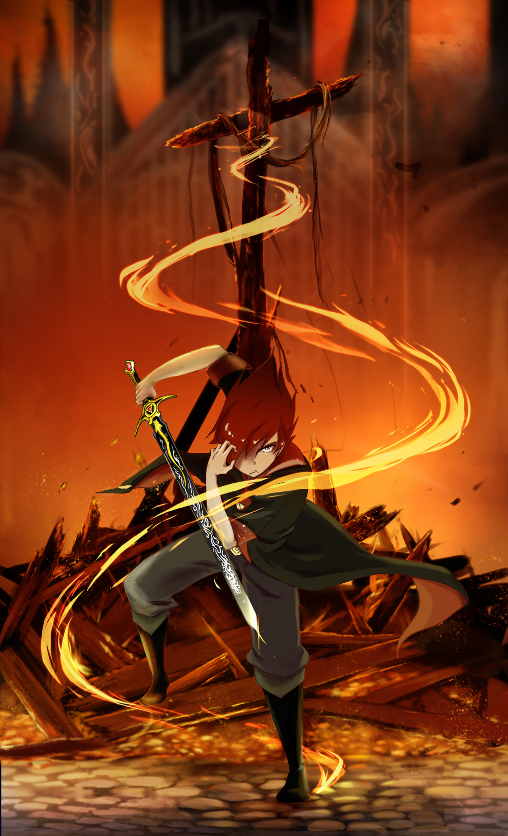 Garo Leon The Boy Born Of Fire By Darkhalo4321 On Deviantart