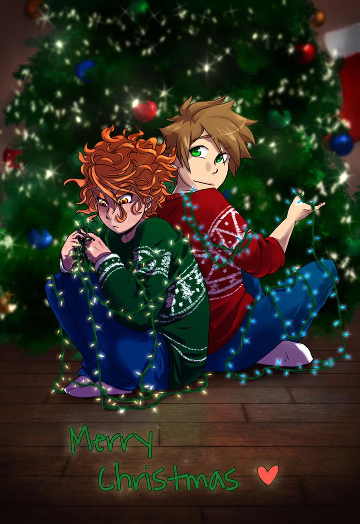 MA: Christmas Tangle by DarkHalo4321