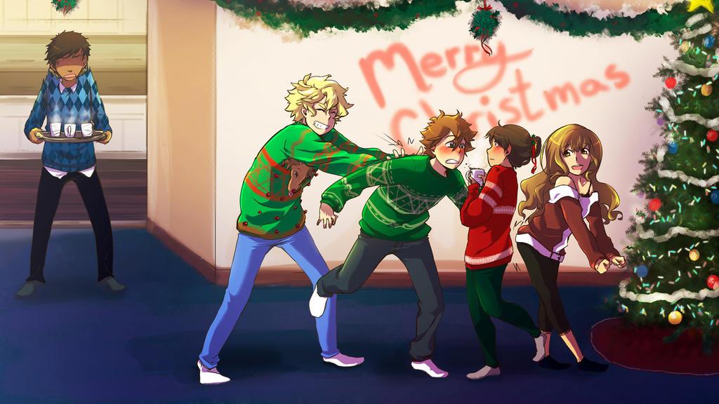 MA : Merry Christmas! Again! by DarkHalo4321