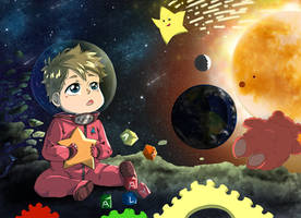 Alayna Space Mission by DarkHalo4321
