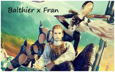 Balthier x Fran ID