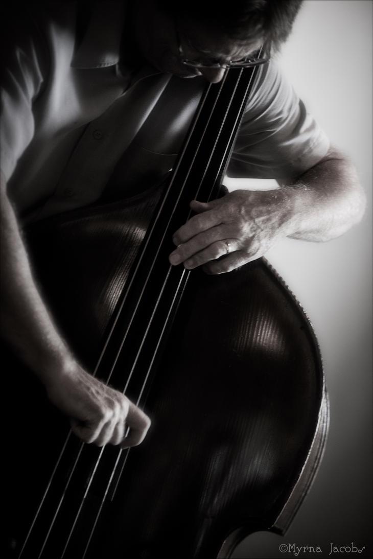 The Jazz Bassist by myrnajacobs
