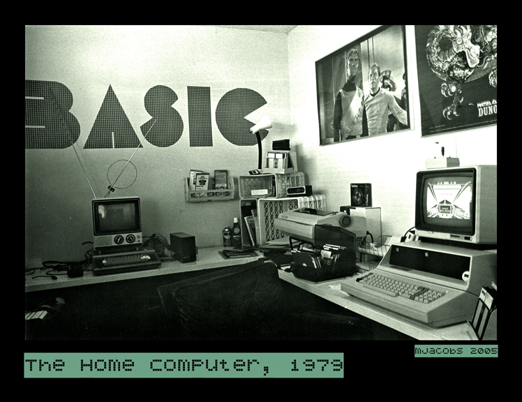 Home Computer, 1979 by myrnajacobs