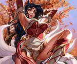 League of legends fan art - Ahri