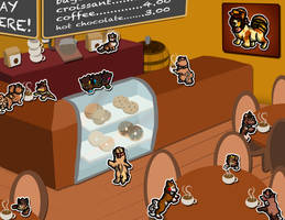 Soosh Scrapbook: Brown Bakery by Yellow-K9