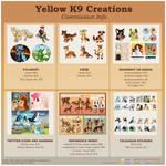 Digital Art Commission Menu: OPEN by Yellow-K9