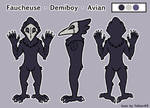Faucheuse Fursuit Ref