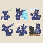 Stickers for Trij