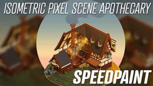 Pixel Scene SPEEDPAINT