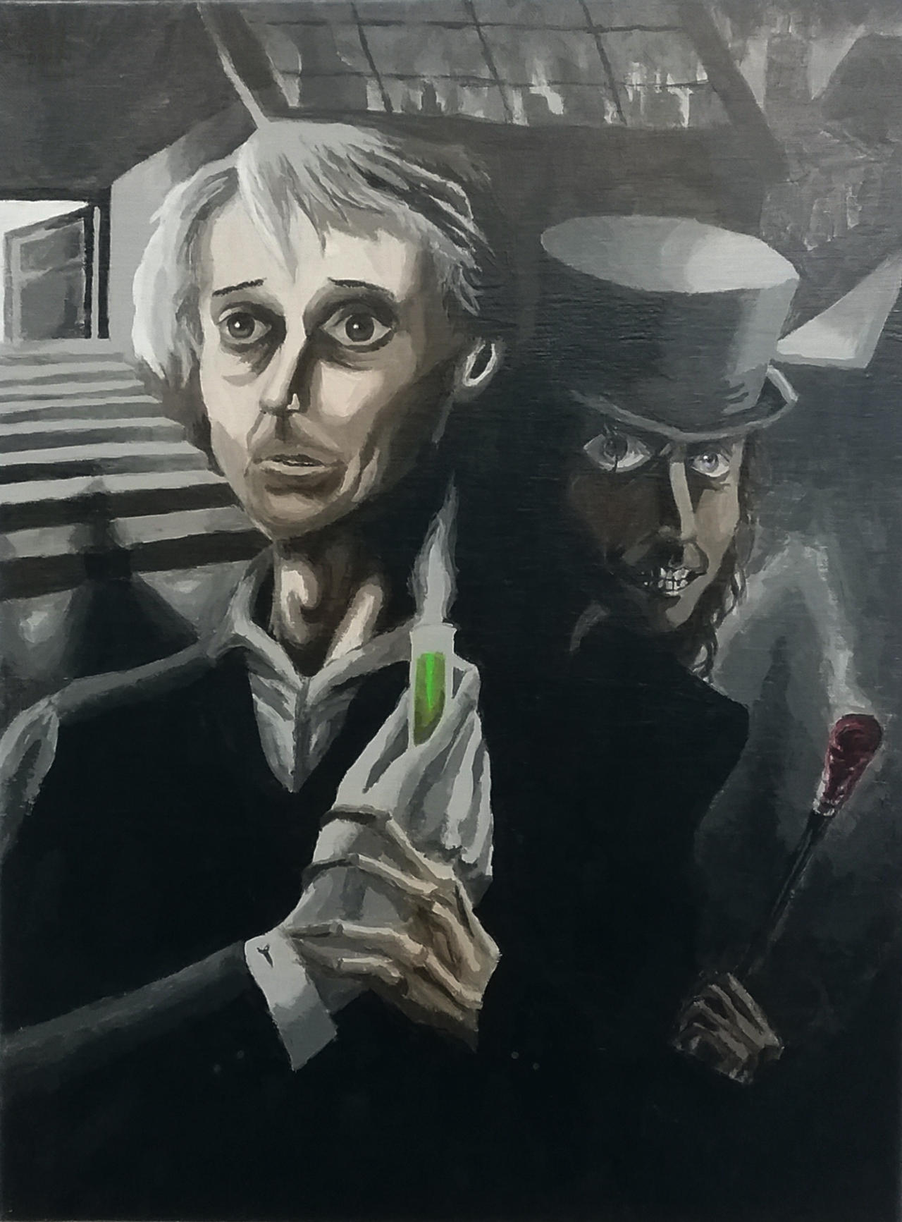 It's just a picture of Superb Dr Jekyll And Mr Hyde Drawing