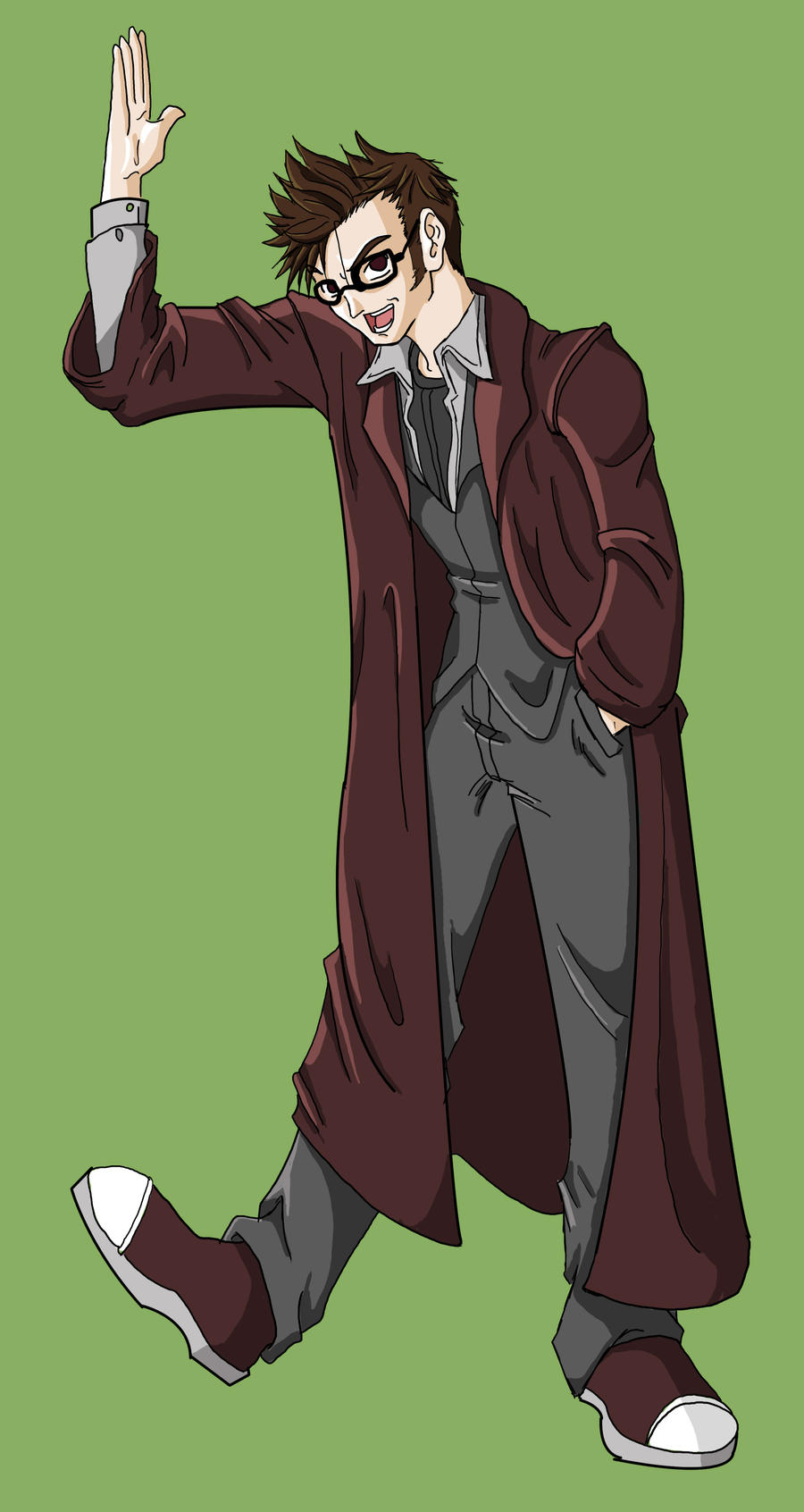 The 10th Doctor by Haseowolf